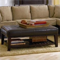Leather Ottomans Coffee Tables More
