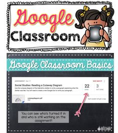 Now that our whole district has gone 1:1 with Google Chromebooks, I thought it was time to share all the neat things you can do with Google Classroom. Head on over to my blog to check out how to get started!
