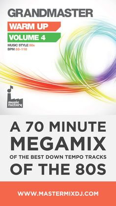 A 70 minute megamix of the best 80s music produced by