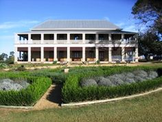 Glengallan Homestead and Heritage Centre after extensive renovations