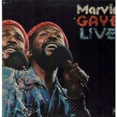 "Marvin Gaye - ""Live"" LP (vinyl) UK TAMLA MOTOWN 1974"