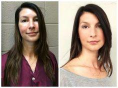 Hair by Catherine Peters, Makeup by Joel Pisani