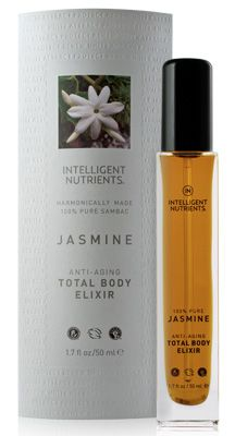 Intelligent Nutrients 100% Pure Sambac Jasmine Anti-Aging Total Body Elixir. intoxicating. seductive. as pure as it gets.