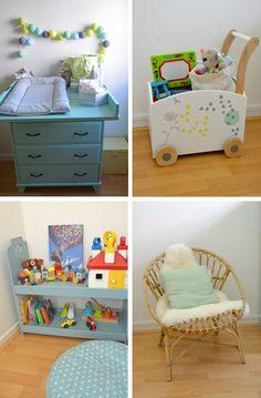 Déco chambre bébé : la chambre nature et poétique de Noah