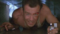 """Die Hard: """"Come out to the coast, we'll get together, have a few laughs..."""" (John McTiernan, 1988)"""