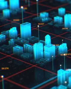 Create This Amazing Holographic City Map Using After Effects And Cinema - After Effects Tips and Tricks Design Ios, Game Design, Logo Design, Cinema 4d Tutorial, Animation Tutorial, After Effects, Motion Design, 3d Video, Technology Wallpaper