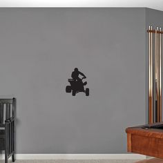 Sweetums Four Wheeler Small Wall Decal