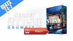 FREE Demo Drum Kit 17 Hip Hop Rap Drum Sounds Secret Stash V  Drum Kit Secret Stash V Get this Kit Spotify Beat Mixtapes
