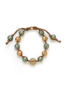 On ideeli: TAI Beaded Drawstring Bracelet