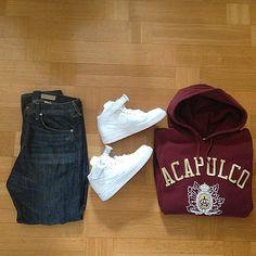Outfit grid - Acapulco hoodie