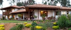 Resultado de imagen para casas coloniales mexicanas arquitectura                                                                                                                                                                                 Más