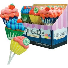 Novelty Candy Product | Home » Cupcake Lollipop Novelty Candy SINGLE