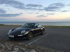 Porsche 911 carerra 997 Gen 2 taken at Royal porthcawl in Wales