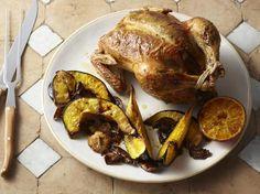 Roasted Garlic and Orange Roast Chicken #myplate #protein #veggies