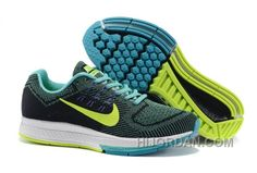 87277b88cb6cb Norway Nike Air Zoom Structure18 Womens Running Shoes Black-month-fluorescent  Green Xy8EB