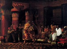 TICMUSart: Pastimes in Anciaent Egypt - Sir Lawrence Alma Tad... (I. M.)