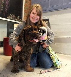 Ranger(left) is going home and will gain a doggy sibling, Lacy!