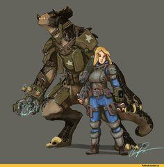 Коготь Смерти,Deathclaw,Fallout существа,Fallout монстры, Fallout мутанты,,Fallout,Фоллаут,,фэндомы,Fallout art,Sole Survivor,Fallout 4