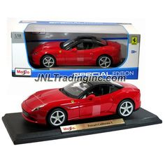 Maisto Special Edition Series 1:18 Scale Die Cast Car - Red Color Grand Touring…