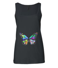 Bella Relaxed Jersey Tank Top butterfly Fit 30, Butterfly, Tank Tops, Lady, Cotton, Dresses, Fashion, Vestidos, Moda