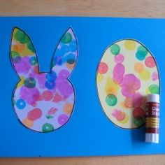 Easter Bunny Banner from Toddler Approved