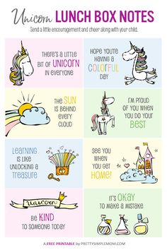 With these adorable Printable Lunch Box Notes for Kids, you can encourage your kids even when you're not with them. Choose from different themed sets. Lunchbox Notes For Kids, Kids Notes, Kids Lunch For School, Notes Free, Jokes For Kids, Kids Meals, Motivation, Food Riddles, Packing School Lunches