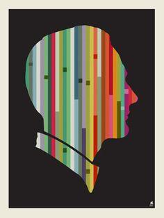 Striped Man by Methane Studios