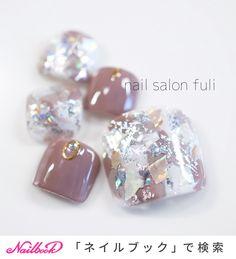 Feet Nails, 3d Nails, Paper Bag Design, Kawaii Nails, Girls Hand, Toe Nail Designs, Toe Nail Art, Facial Care, Silver Hair