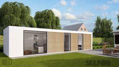 prefab module thuiskantoor - skilpod