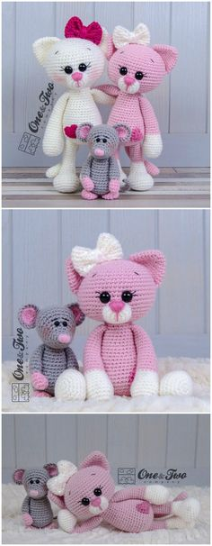you are good at crocheting then here is a big list of free crochet cat patterns for you!Cat Amigurumi Crochet Pattern