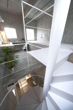 Staircase At TheKomada Architects' OfficePhotography ByToshihiro Sobajima
