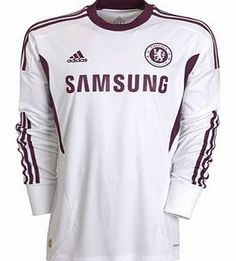 Chelsea Away Shirt Adidas 2011-12 Chelsea Adidas Away Goalkeeper Shirt Brand new official Chelsea Goalkeeper shirt for the 2011/12 Premiership season available to buy in sizes S M L XL XXL. This football shirt is manufactured by Adidas and is white in colour and fo http://www.comparestoreprices.co.uk/football-shirts/chelsea-away-shirt-adidas-2011-12-chelsea-adidas-away-goalkeeper-shirt.asp