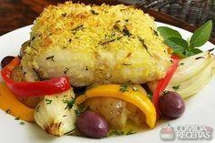 Receita de Lombo de bacalhau à lagareiro em receitas de peixes, veja essa e outras receitas aqui!