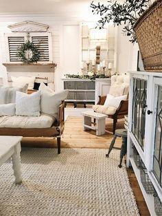 World Market bleached jute rug