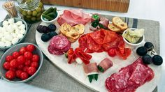 Ultimate Charcuterie Platter - Steven and Chris