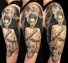 Bride of Frankenstein sleeve by Jari Kajaste