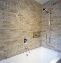 subway tile shower | Shower Tile