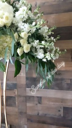 White Floral Centerpieces, Floral Arrangements, Entrance Table, Event Design, Florals, Wedding Flowers, Floral Design, Audio, Events