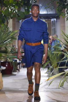 Umit Benan Fashion Show Menswear Collection Spring Summer 2016 in Milan