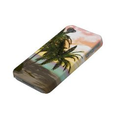 Dreamy Desert Island iPhone 4/4S Barely Case