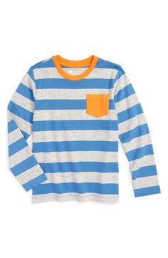 Tucker + Tate Long Sleeve Pocket T-Shirt (Toddler Boys & Little Boys) available at #Nordstrom