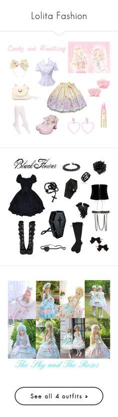 """Lolita Fashion"" by melodyfire ❤ liked on Polyvore featuring Hue, Shamballa Jewels, Alexander McQueen, Dorothy Perkins, Boohoo, Bling Jewelry, West Coast Jewelry, Monsoon, Menbur and Bottega Veneta"
