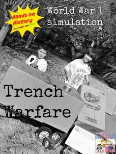 Explore the trenches of World War 1 with this activity The Effective Pictures We Offer You About World History curriculum A quality picture can tell you many things. World History Lessons, Teaching History, Us History, History Timeline, Ancient History, History Activities, History Classroom, History Projects, History Photos