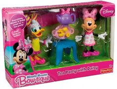 Fisher-Price Disney's Tea Party with Daisy Bowtique*** note from Ali***** Want Daisy Duck- used is great
