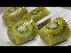 """Ну, оОчень вкусное - Мороженое """"Фруктовый Лед"""" из Киви! - YouTube"""