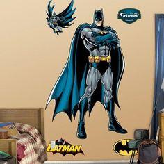 Fathead DC Comics Batman: Justice League Wall Graphic New Batman Bedroom, Batman Gifts, Do It Yourself Design, Wall Appliques, Batman Arkham City, Mural Art, Murals, Justice League, Wall Decals