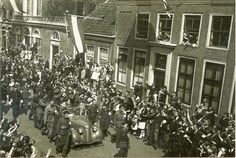 Liberation of Enkhuizen, the Netherlands (10-5-1945).