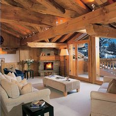 And for my ski lodge...(I can dream!)