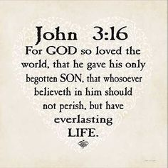 John 3:16...God so loved the world....... So loves everyone!