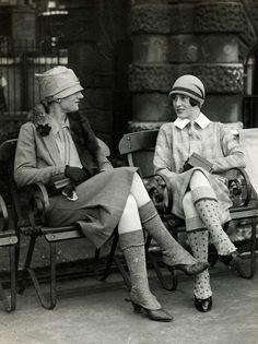 Scotland, 1926. The socks!